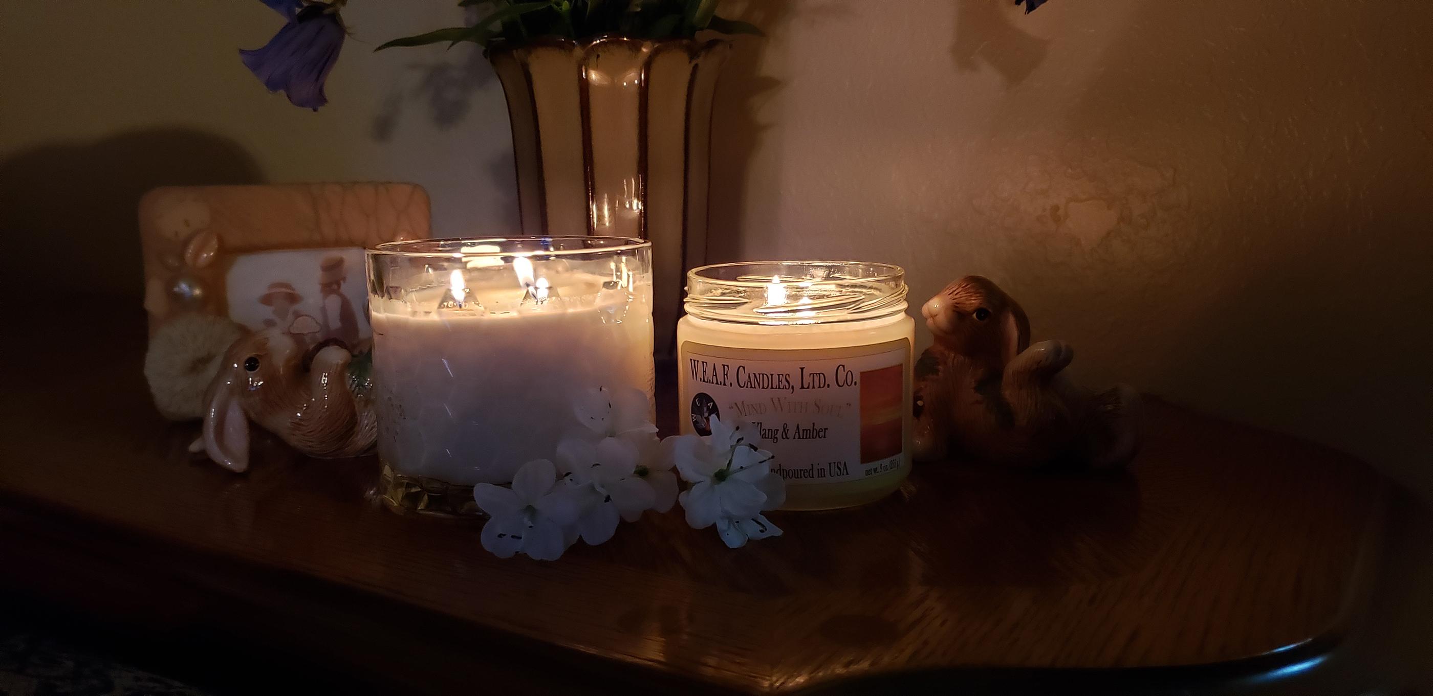 W.E.A.F. Candles