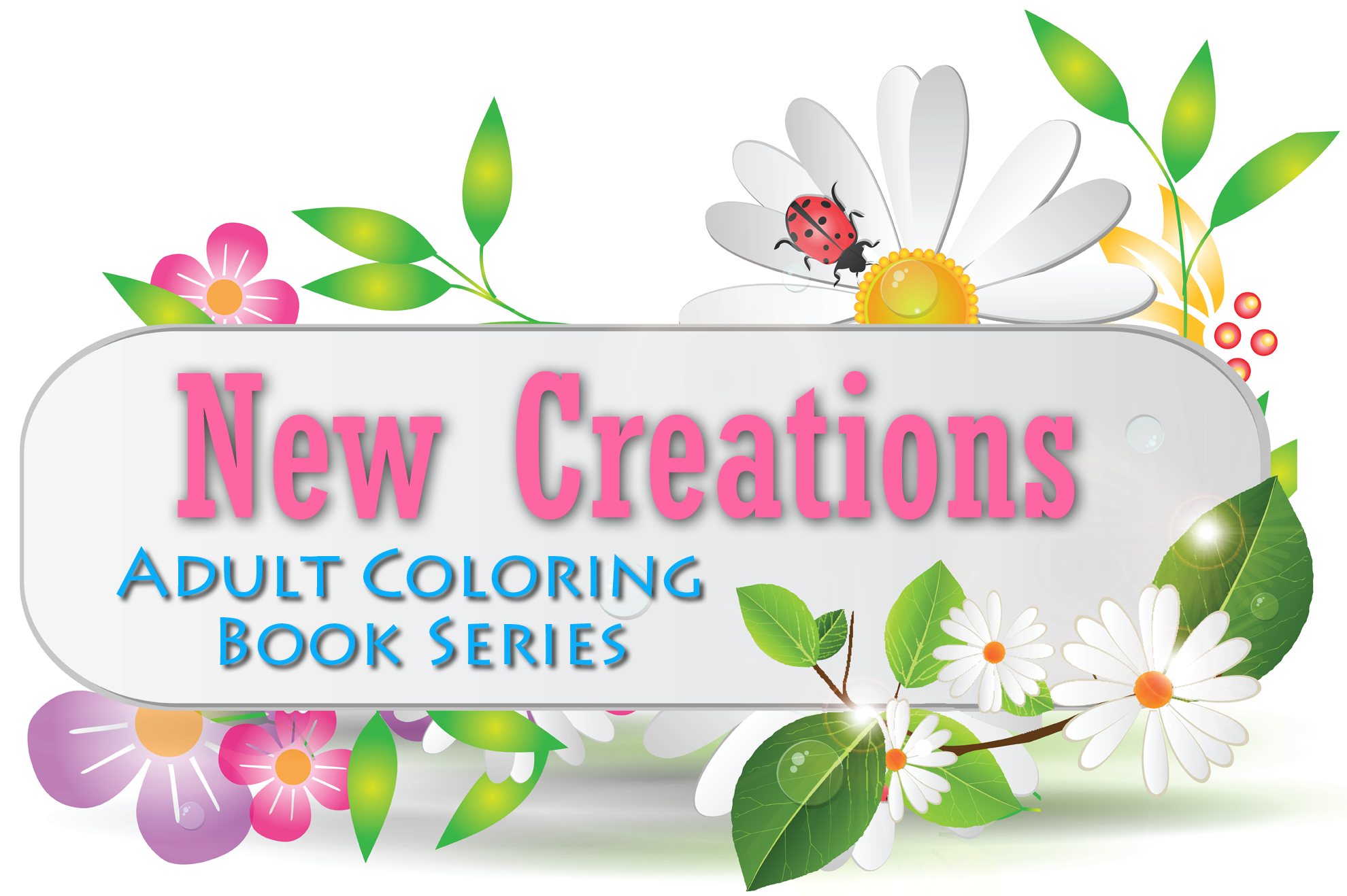 New Creations Coloring Books
