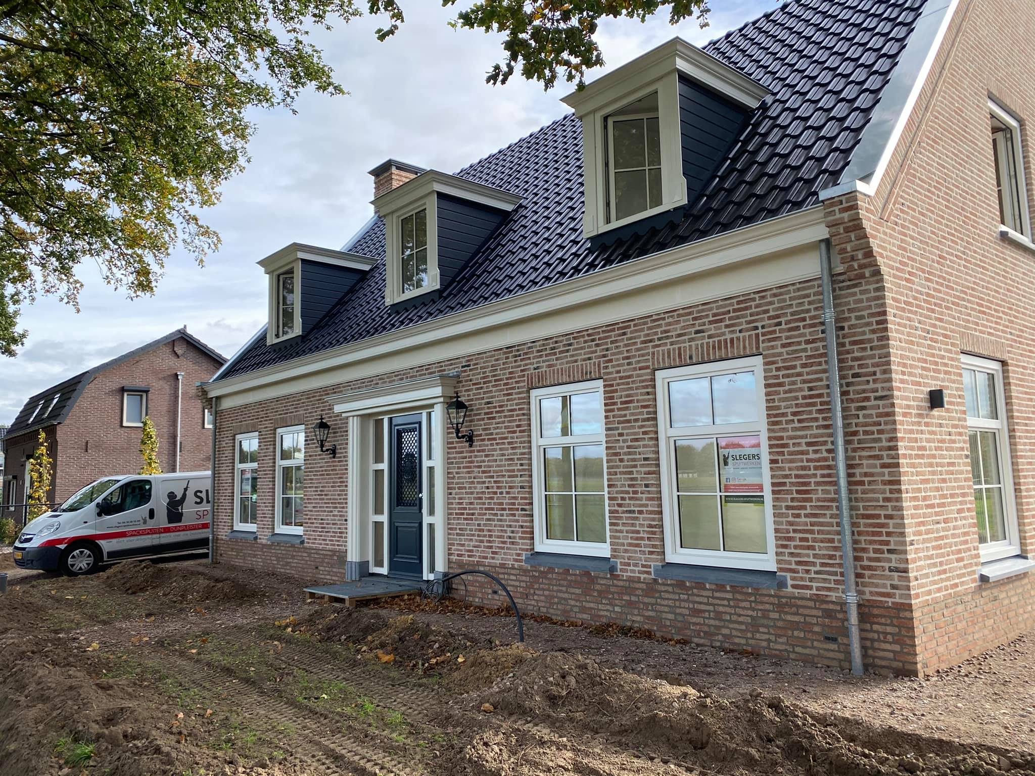 Afwerking nieuwbouwproject modelwoning in Swalmen