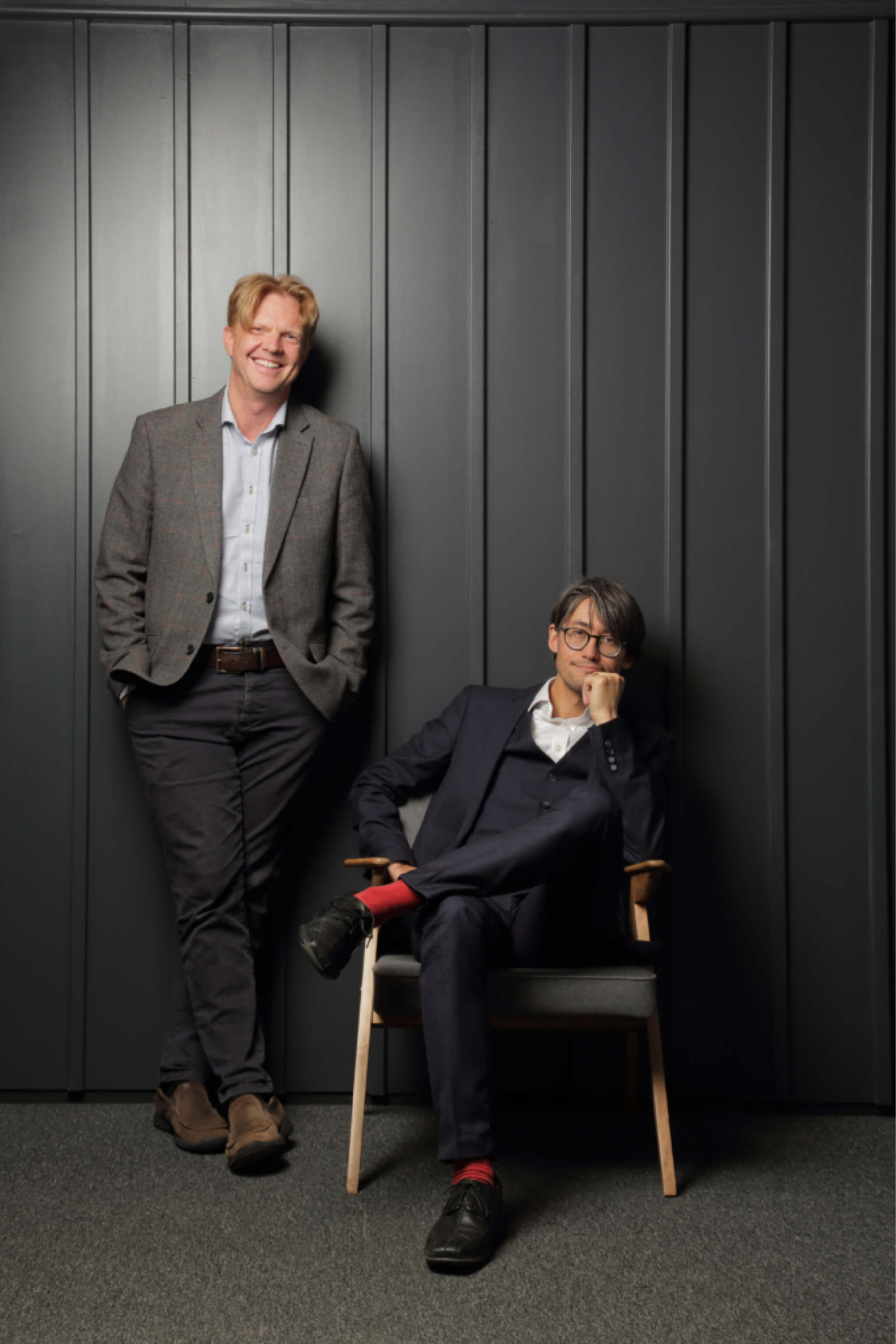 Aire Logic founders: Mike and Joe