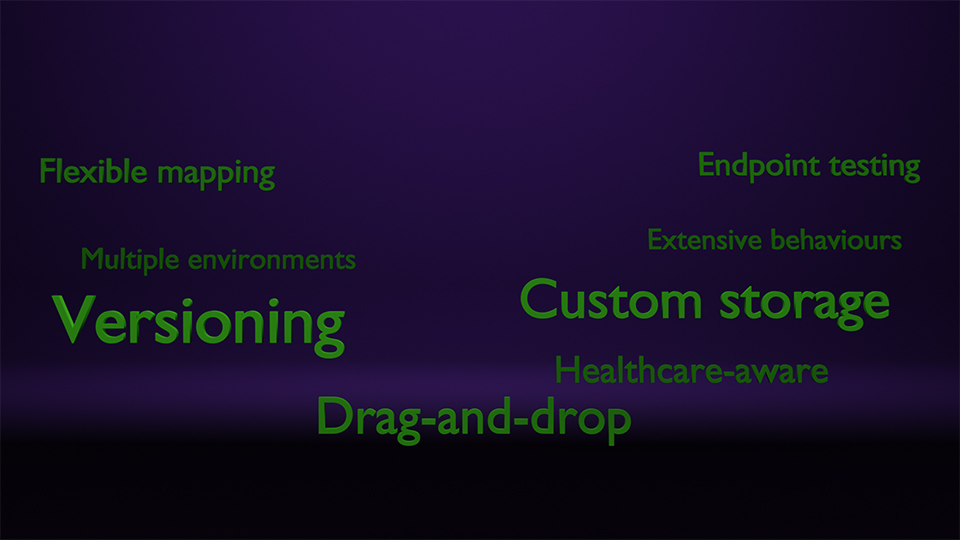 AlreGlu Feature words Background Image