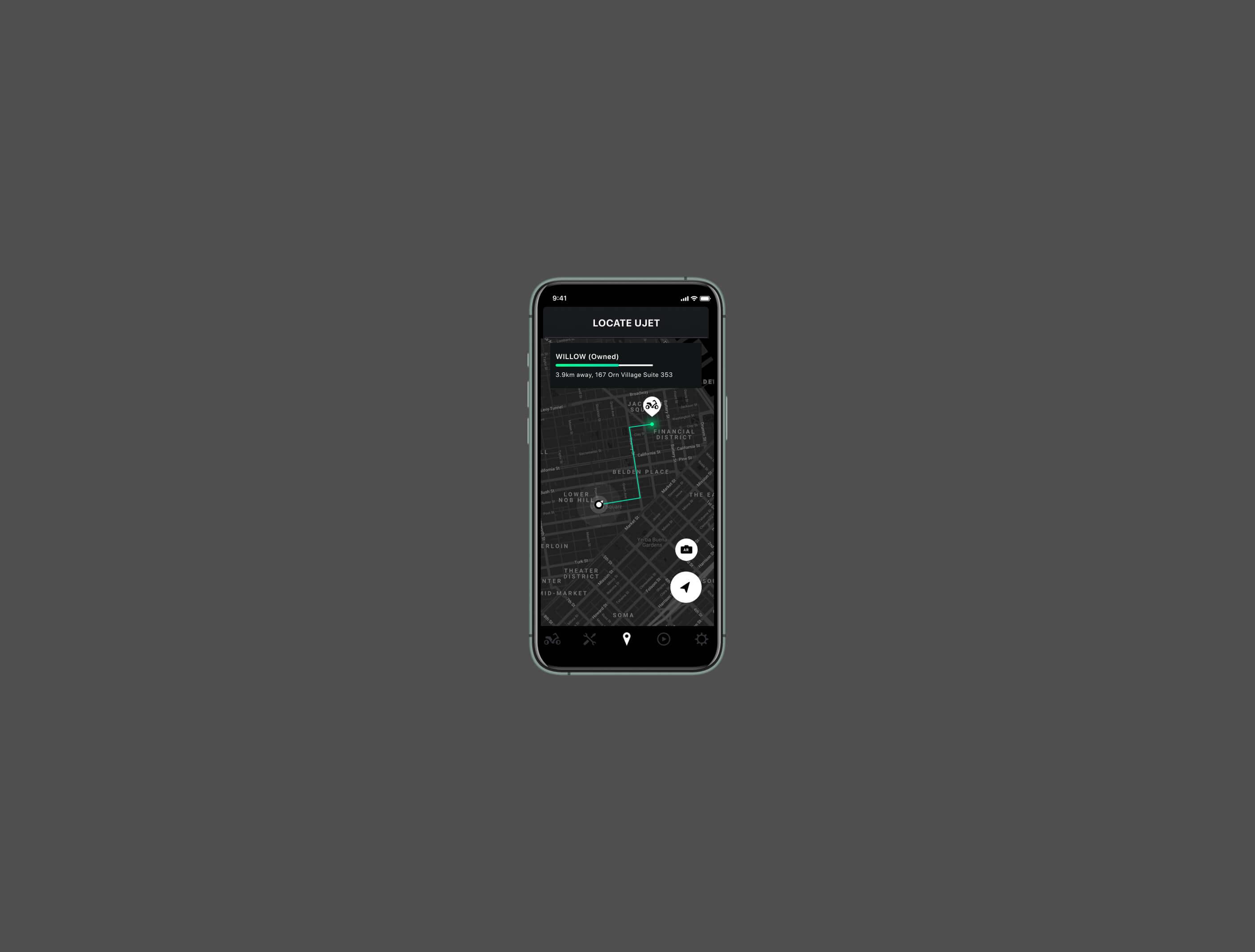 Ujet app