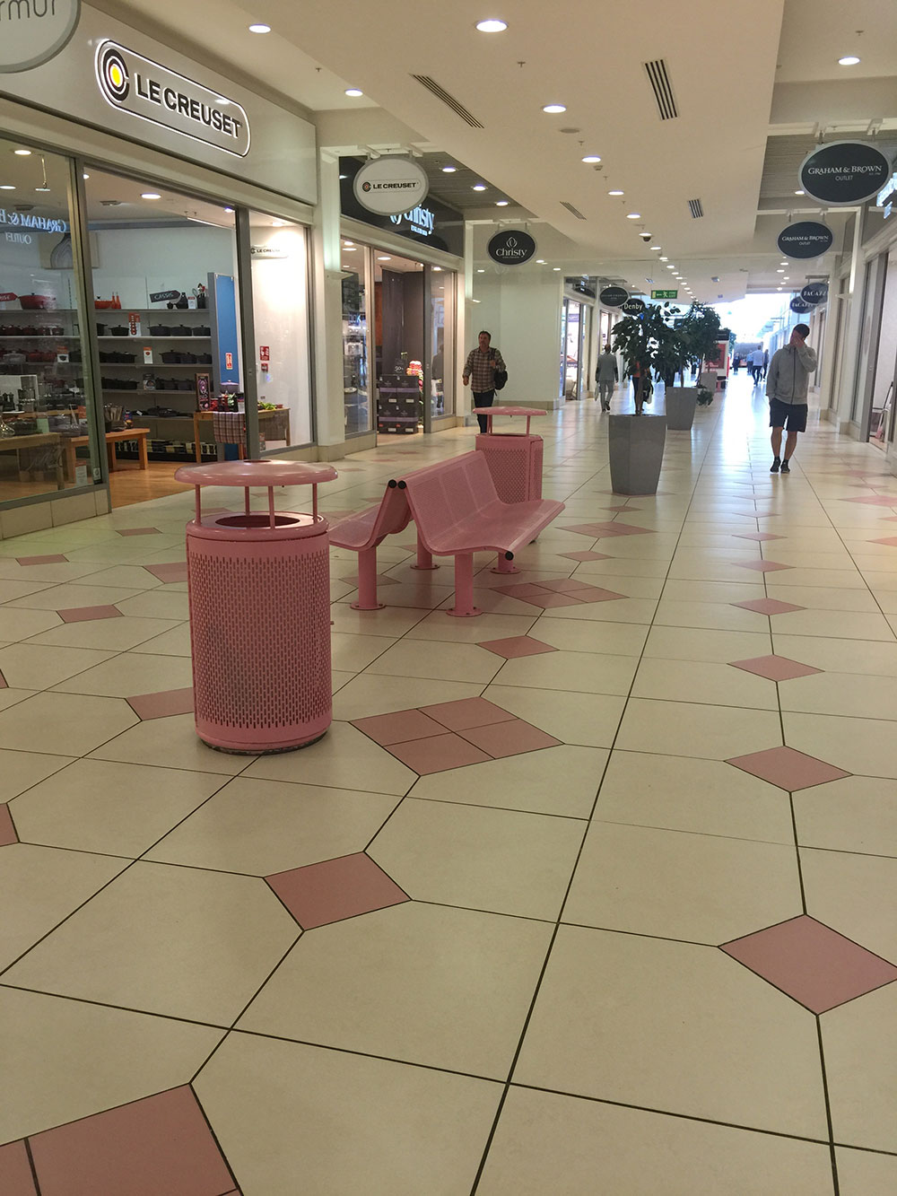 Pink Benches