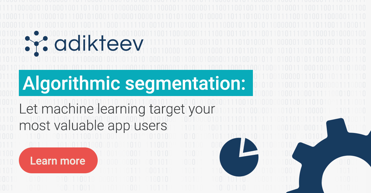 Check out how algorithmic segmentation can help you increase your campaign reach and impact to achieve your app marketing goals!