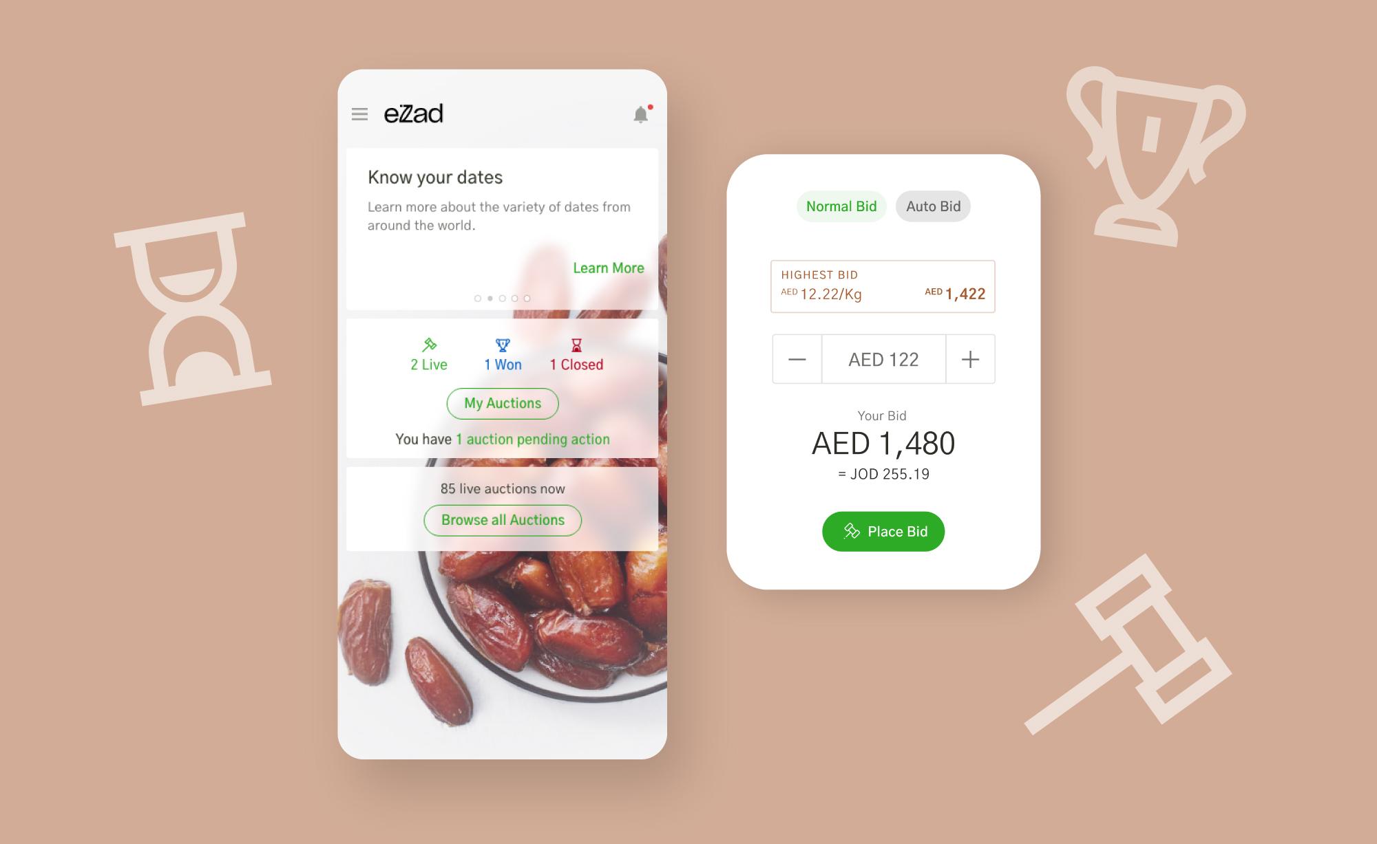 eZad - World's Leading Dates eCommerce Marketplace