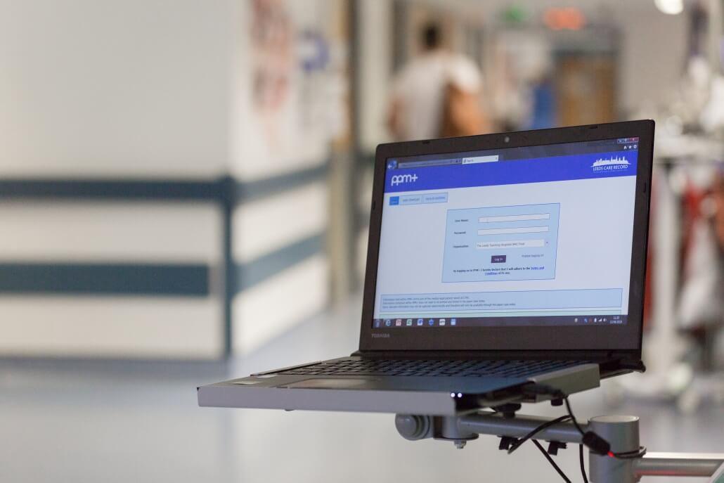 Leeds Teaching Hospital trust PPM+ system