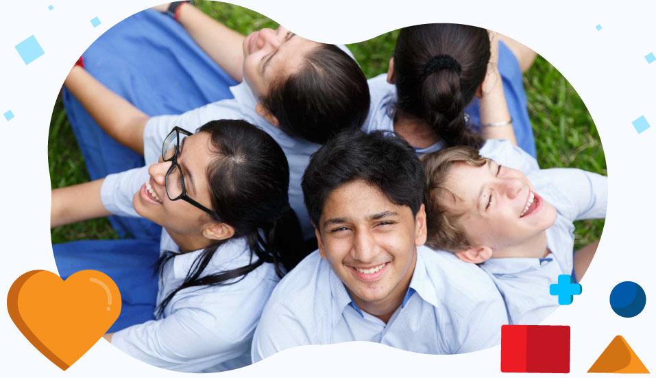 Happiness On Students Face at GIIS Kuala Lumpur