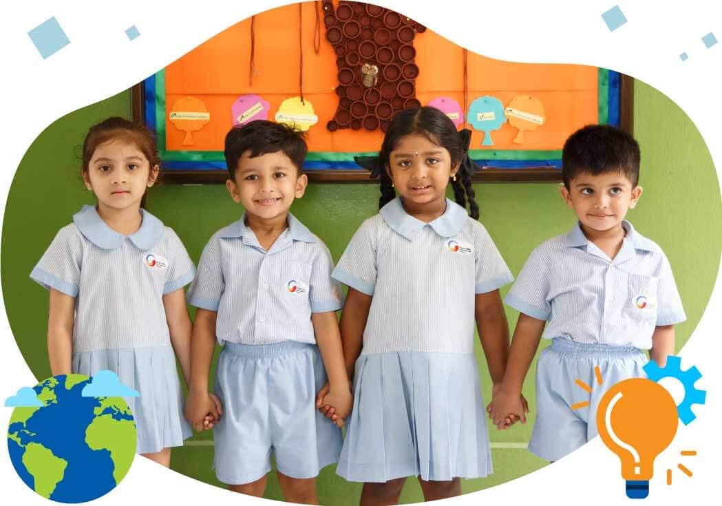 Kindergarten Students at GIIS Kuala Lumpur