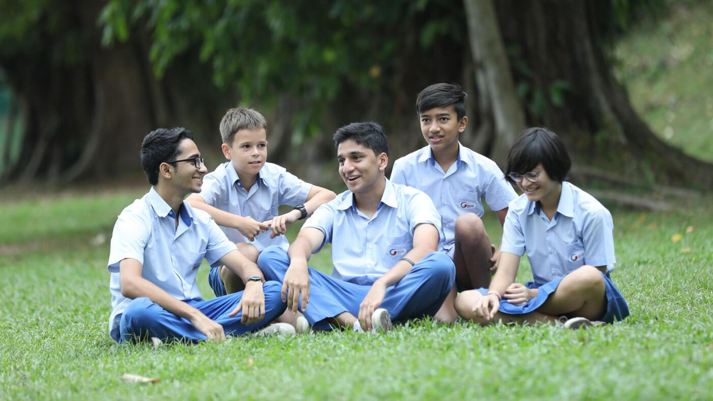 High School Students at GIIS Kuala Lumpur