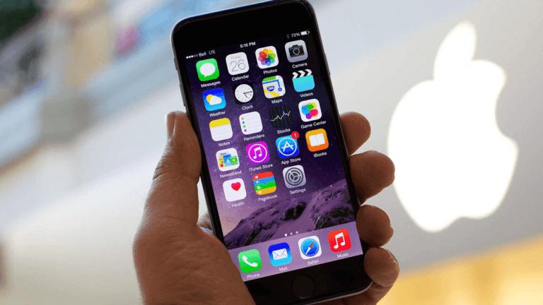 App list on phone