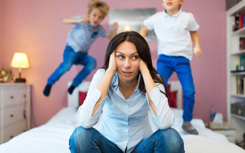 ¿Te sientes mal por no estar al 100 con tus hijos por la ansiedad?
