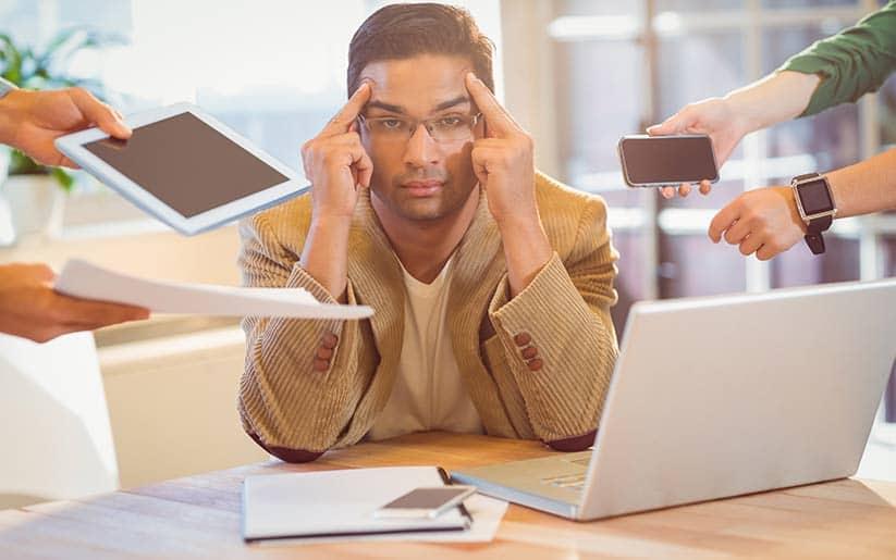 ¿Qué hacer con el estrés laboral? – Desansiedad