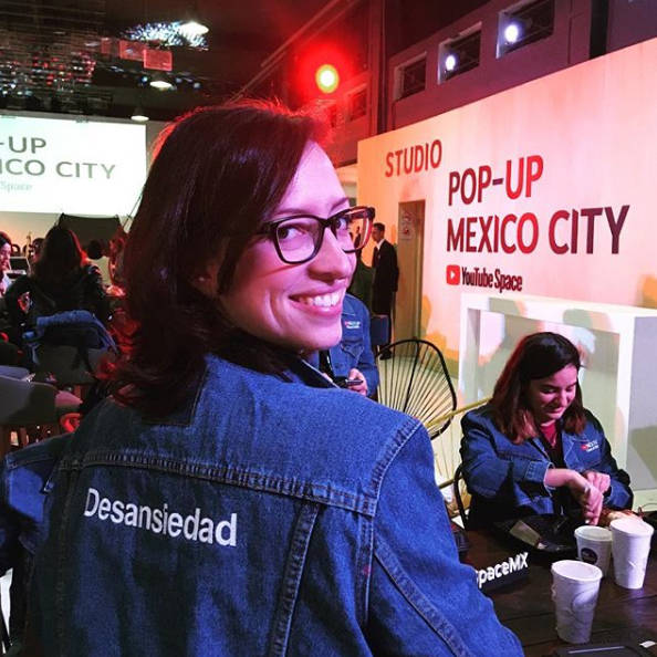 Fabiola Cuevas en Youtube NextUp