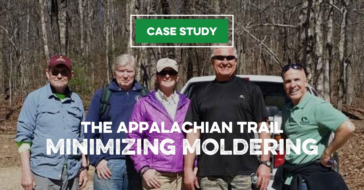 The Appalachian Trail Minimizing Moldering
