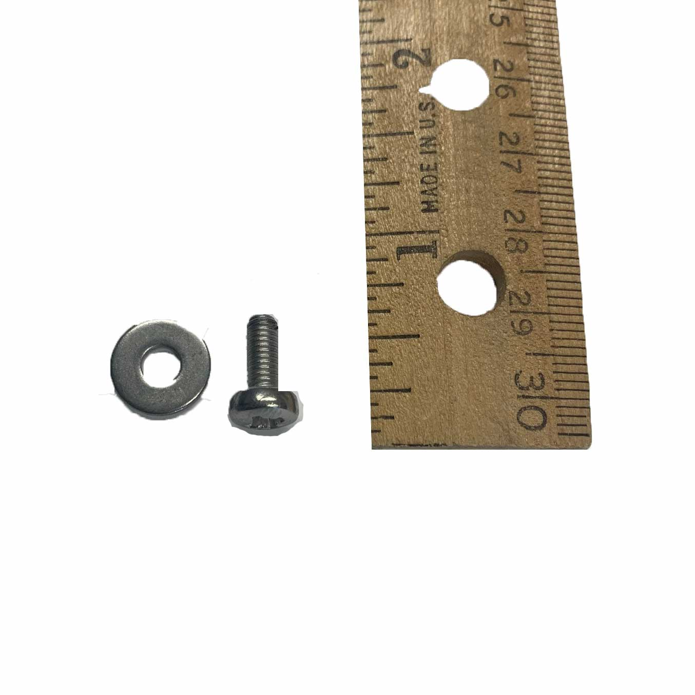 Bolt and Washer for 8 Tooth Gearwheel