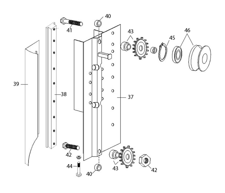 Wintex 1000 - Mounting Plate