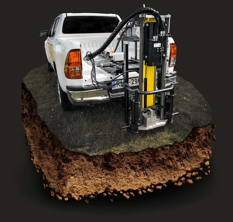 Wintex 1000s automatic soil sampler