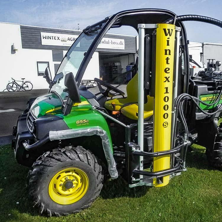 Wintex 1000s automatic soil sampler installed on a John Deere Gator UTV