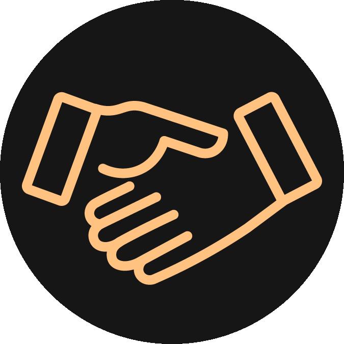 Customer Service Handshake