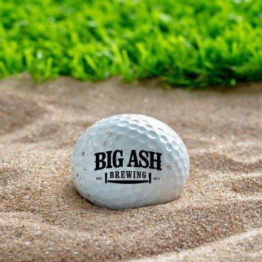 Big Ash Custom Golf Balls