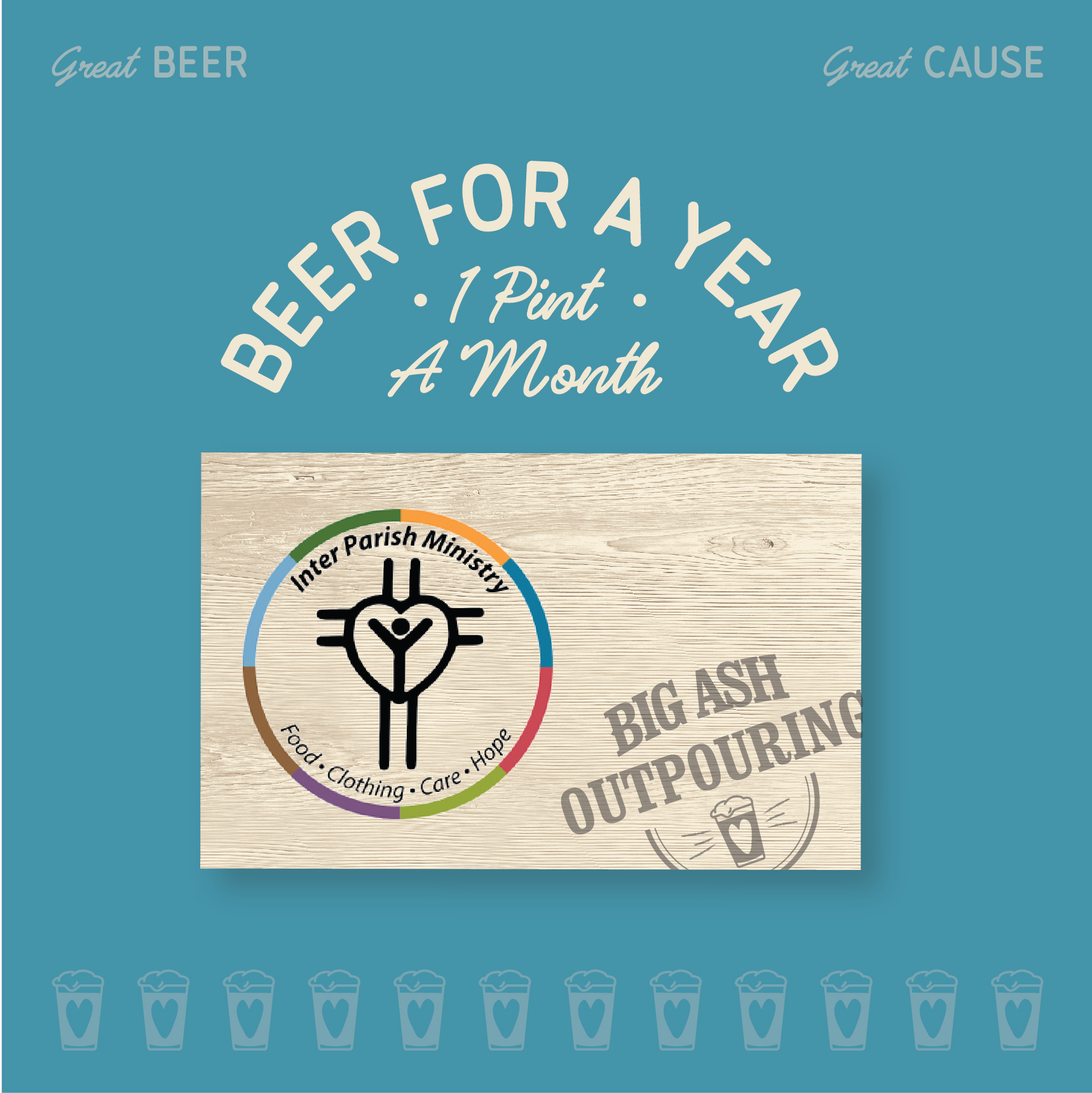 Inter Parish Ministry Beer For A Year Card