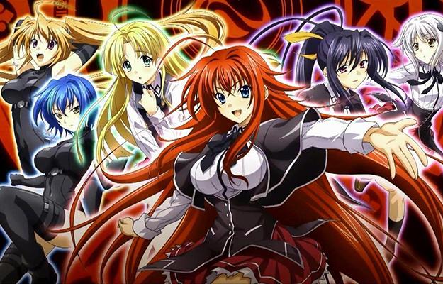 6 cute anime girls from High School DxD movie_heading | Season 5 Stays Faithful To The Manga | Highschool DxD - The Ecchi King Is Back