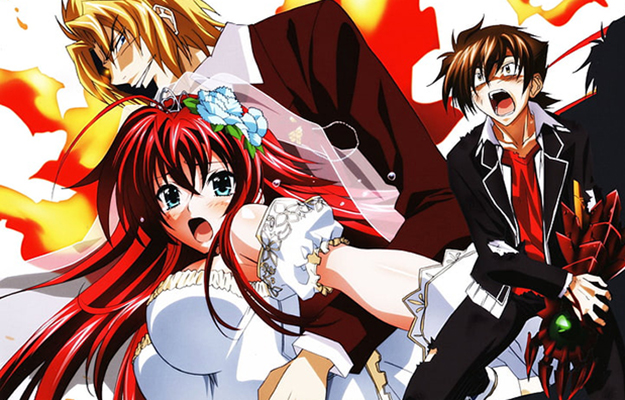 EA_2 men fighting for each other to rescue a cute girl_heading | Ecchi Elements and Fanservice | Highschool DxD - The Ecchi King Is Back