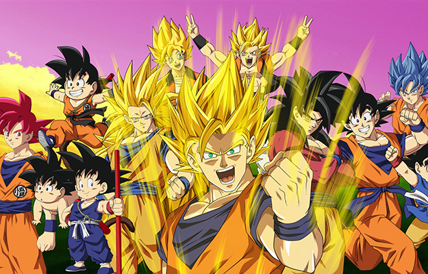 different types of sugoku version | Dragon Ball | Have You Seen All These Adventure Anime?