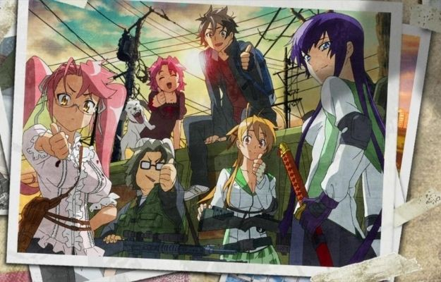 highschool of the dead | Highschool of the Dead (2010) | Ecchi Anime We Wish Had More Episodes