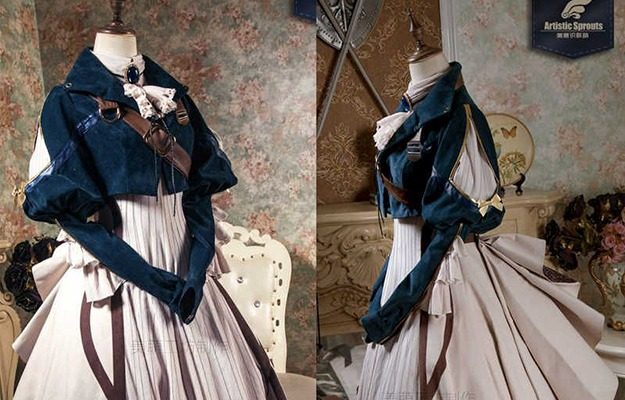 anime cosplay costume in different angles | Collect Information | How to Create Your Own Cosplay Costume - A Beginners Guide
