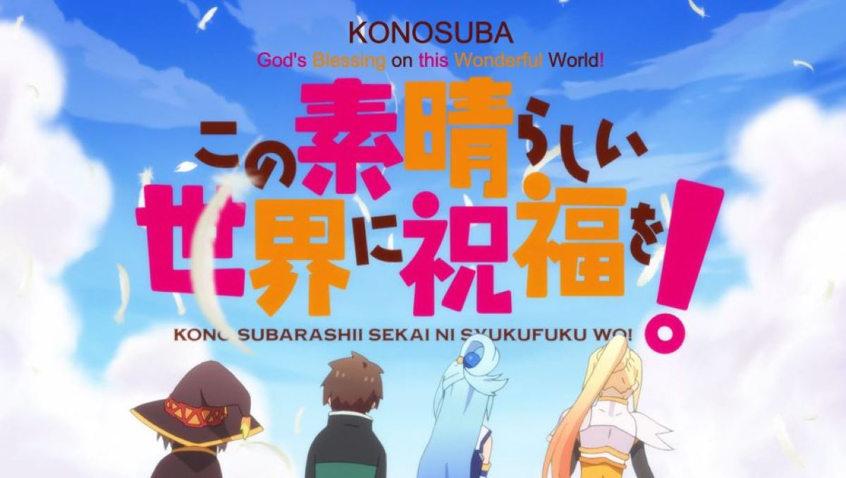 Konosuba introduction sequence with the main characters | The Proliferation of the Web Novel* * | What is a Light Novel as Compared to More Traditional Literature?
