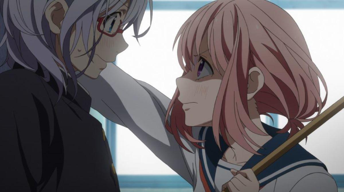Koyuki and Hina's first meeting | Kabedon Meaning | Kabedon