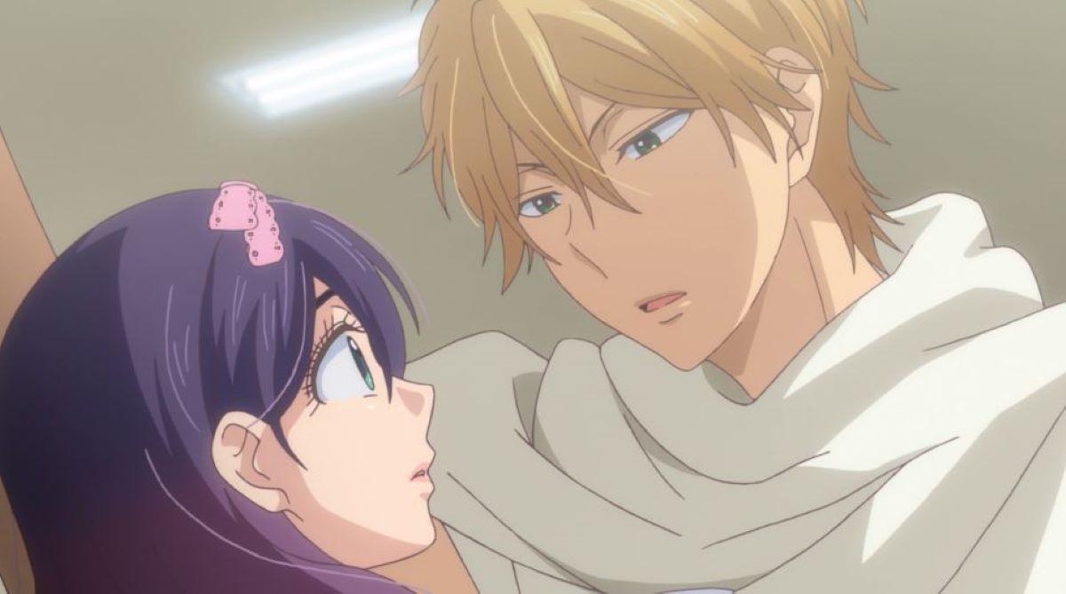 Nanashima trying to confess to Kae | Love Confession | Kabedon