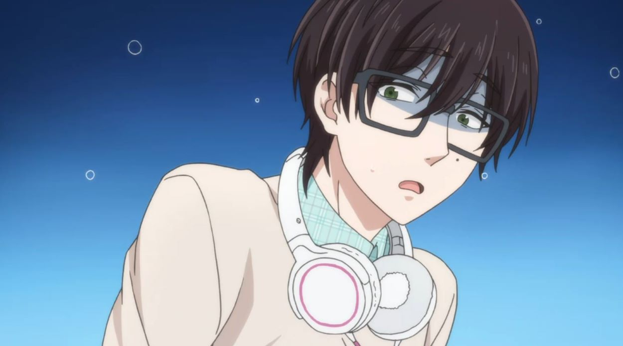 Kou-kun with her headphones | Gamer Girl | Meganekko - Glasses Girl!