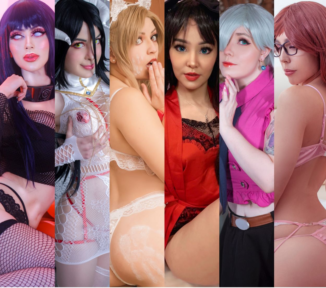 Cosplay add-on advert with the Puri Puri Squad girls | Cosplay Collection | Introducing EcchiToons!