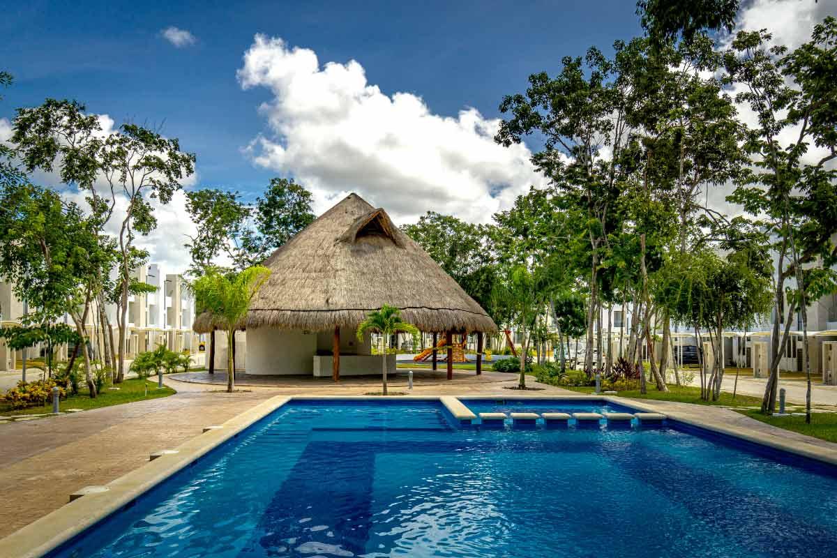 Bali Lifestyle Alberca Casas en Riviera Maya