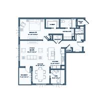 1 Bedroom Apartment + Den