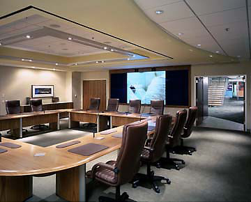 Vox Conference table and NOW chairs at Accenture boardroom