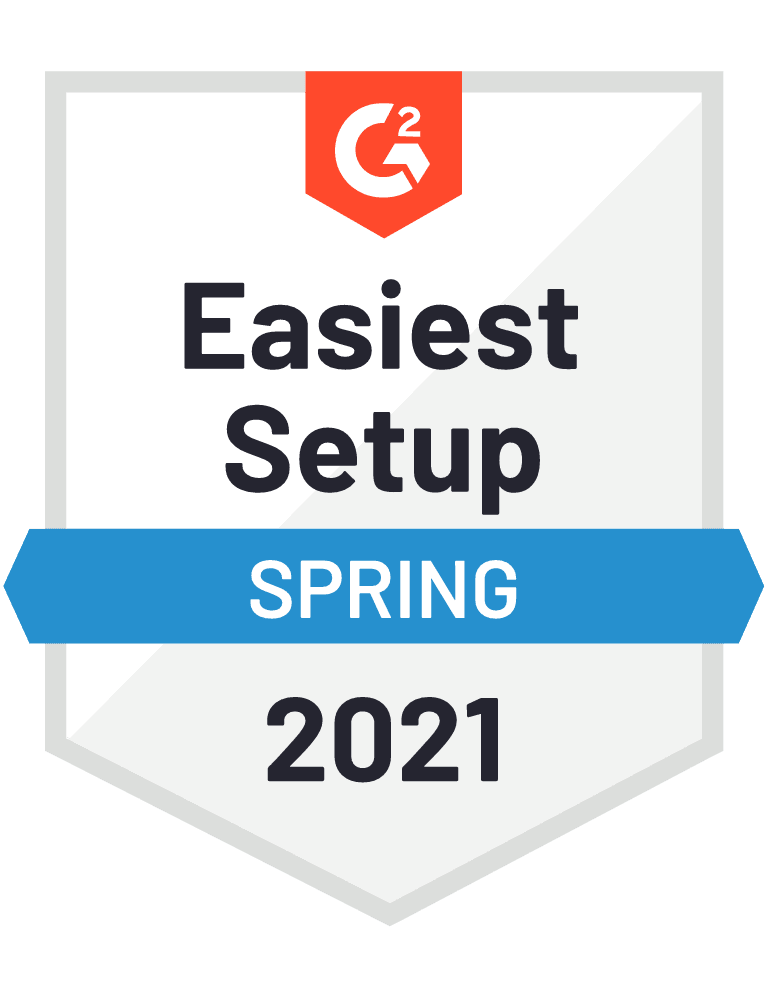 G2: Easiest Setup - Small Business - Summer 2020