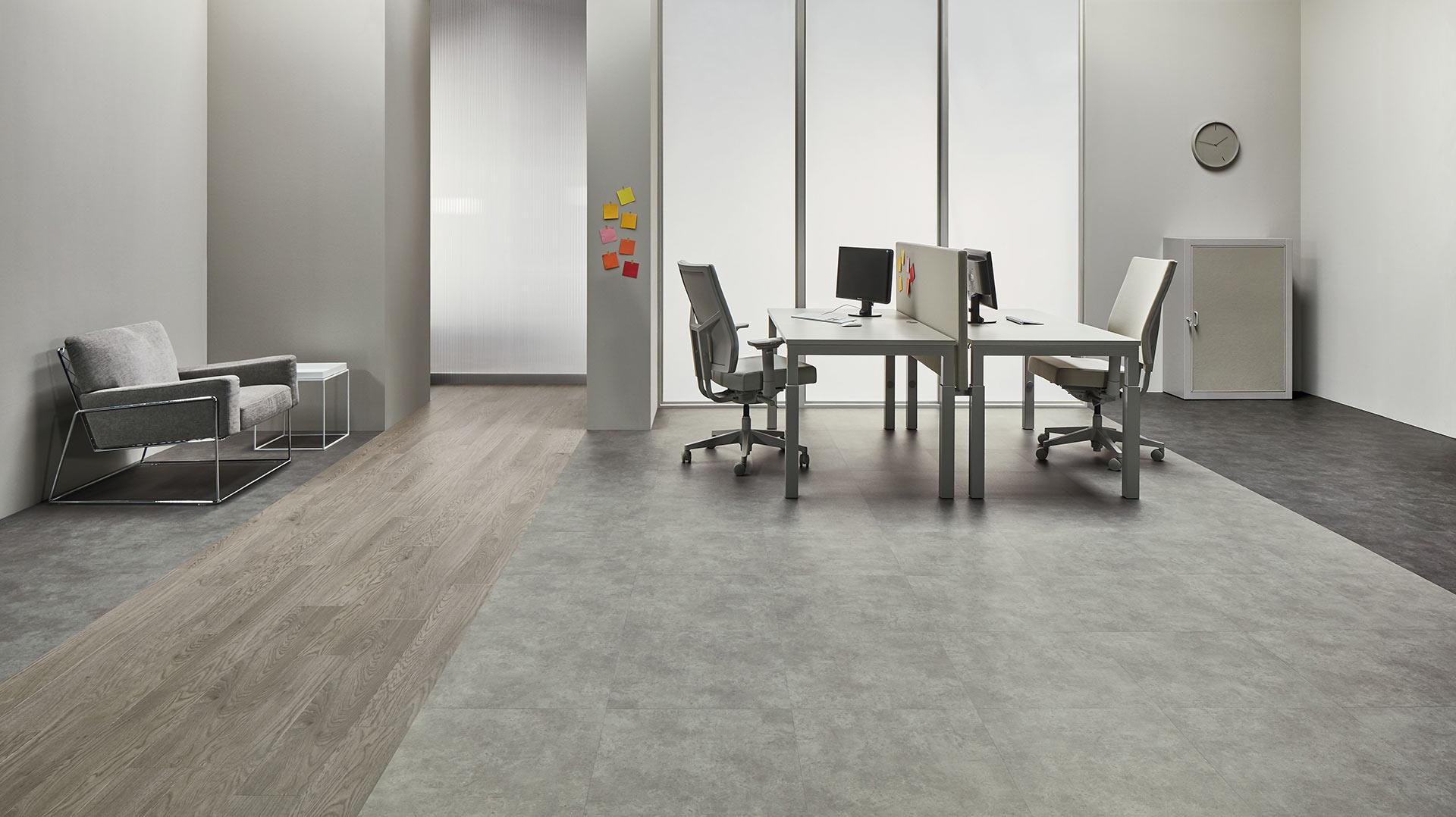 Vinylboden - Charocal Concrete - Ansicht 2