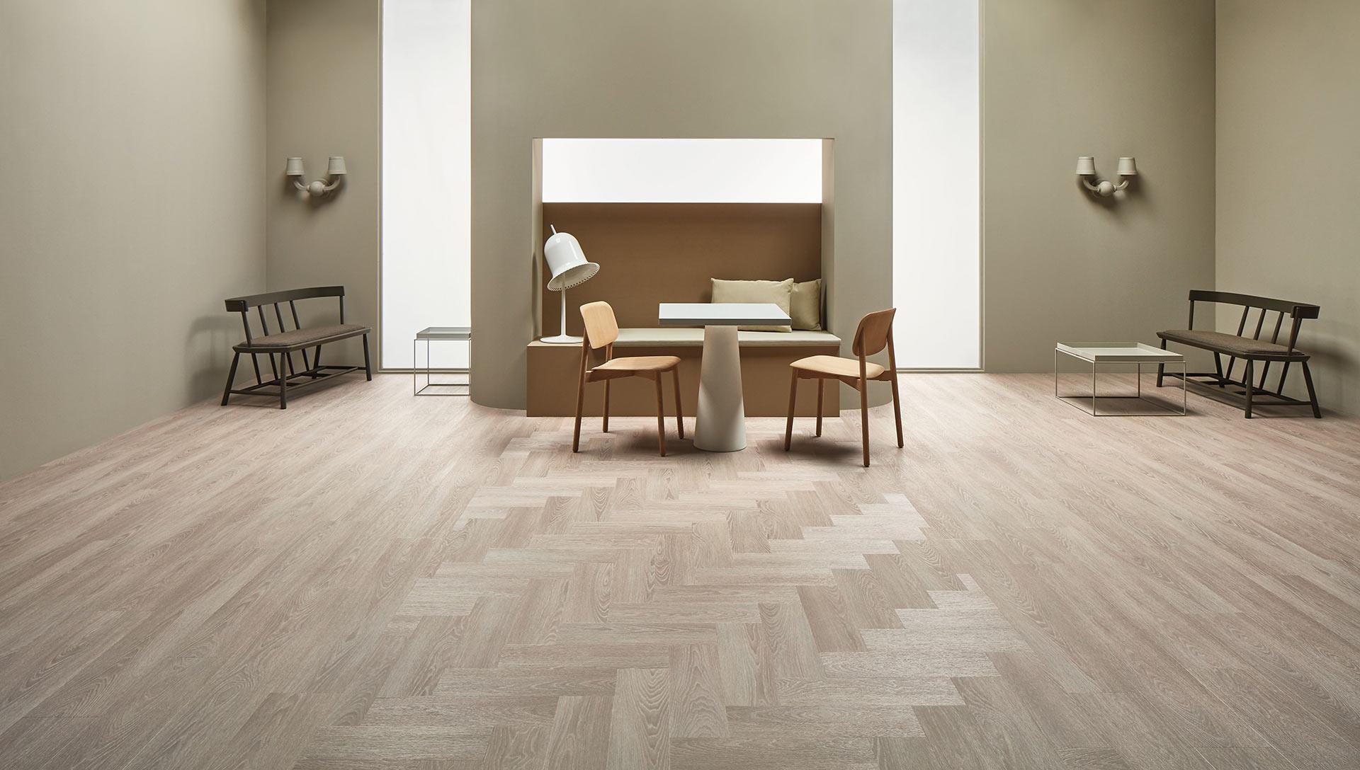 Vinylboden - Bleached Timber - Ansicht 2
