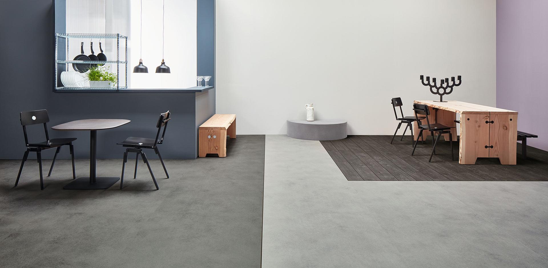 Vinylboden - Grey Collage Oak - Ansicht 2