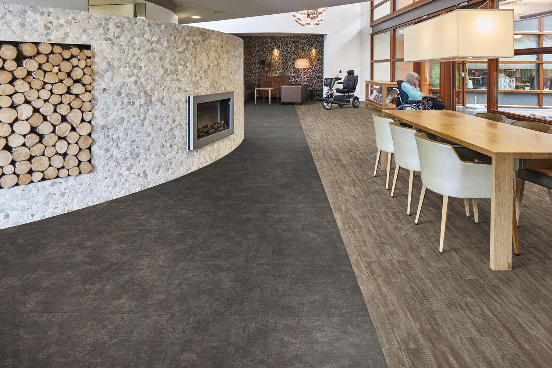 Vinylboden - Nero Concrete - Ansicht 3