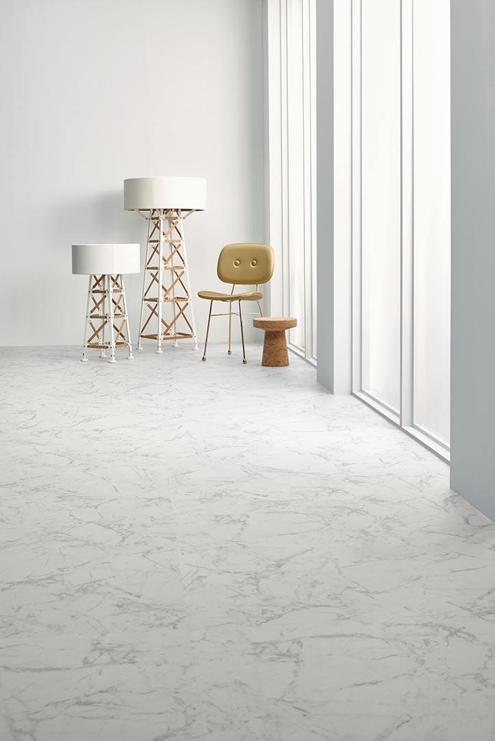 Vinylboden - White Marble - Ansicht 2