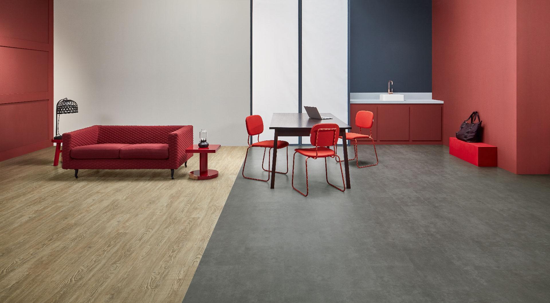 Vinylboden - Mid Concrete- Ansicht 2