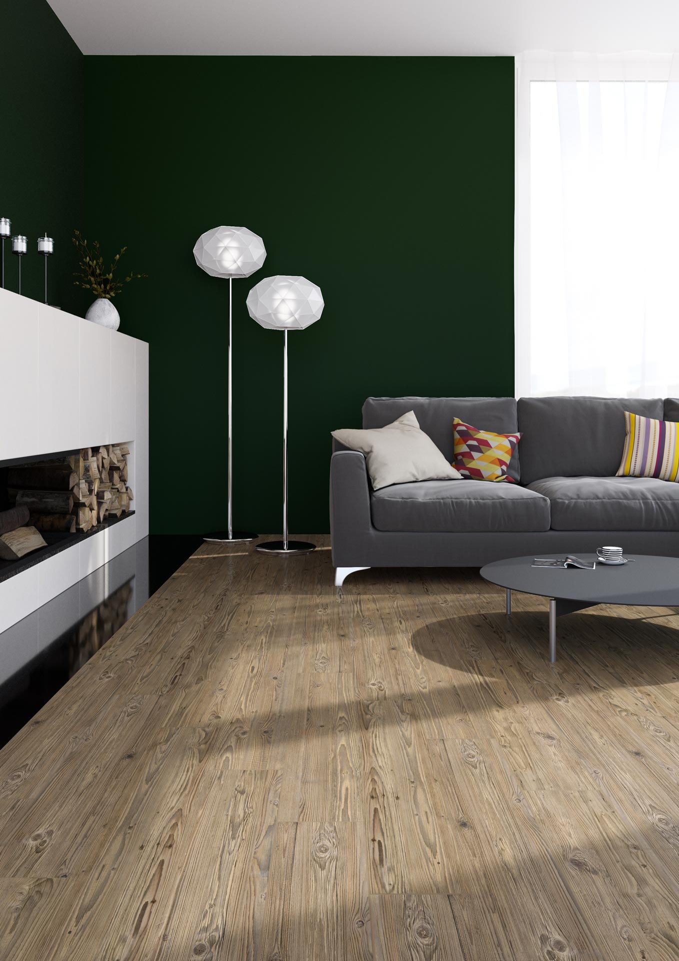 Raum Foto Forbo Natural Pine