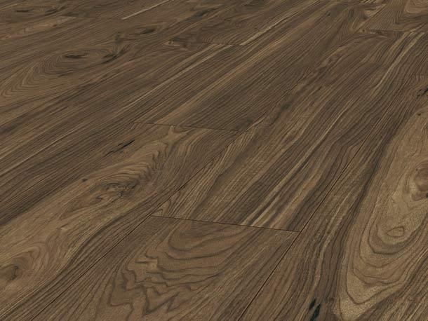 Laminatboden – Nussbaum Toscana – Italienisches Nussbaumholz – Muster bestellen!