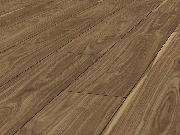 Laminatboden – Dublin Walnut – Irisches Walnussbaumholz – Muster bestellen!