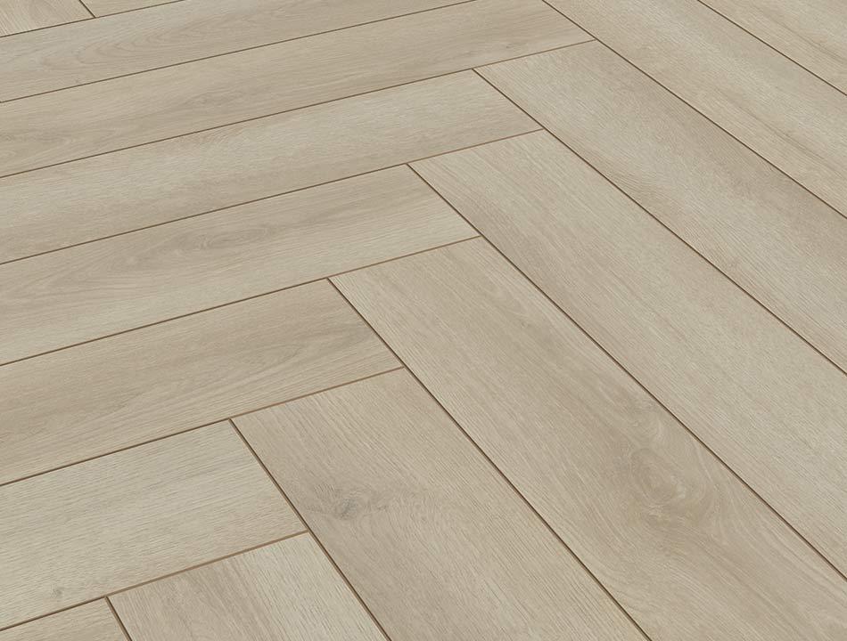 Laminatboden – Harmony Oak beige – Urbanes Eichenholz – Muster bestellen!