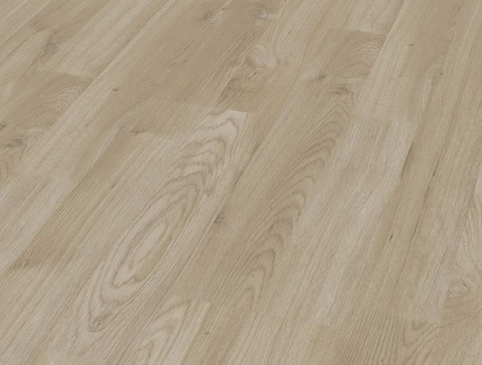 Laminatboden – Eiche sandfarben – Holz der Pyramideneiche – Muster bestellen!